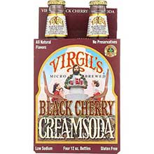 Virgils Black Cherry Cream Soda 12 Ounce