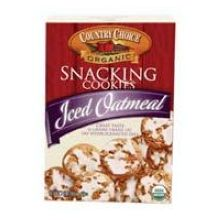 Country Choice Organic Snacking Iced Oatmeal Cookies