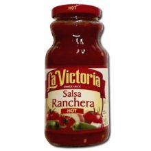 La Vic Salsa Ranchera Hot 16.5 ounce