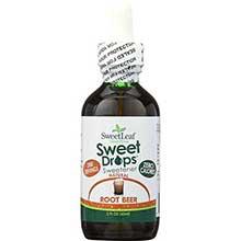 Sweet Leaf Root Beer Flavor Stevia Liquid 2 Ounce
