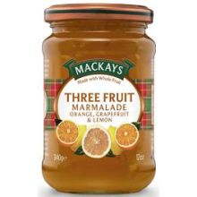 Three Fruit Marmalade 12 Z
