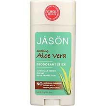 Jason Natural Products Aloe Vera Deodorant Stick 2.5 Ounce