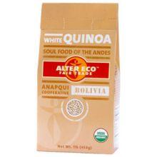 Alter Eco Fair Trade Pearl Organic White Quinoa 1 Pound
