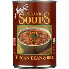 Organic Tuscan Bean and Rice Soup