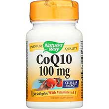 Natures Way CoQ10 Softgel 100 Milligram