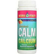 Peter Gillhams Nat Vitality Raspberry Lemon Natural Calm Plus Calcium 8 Ounce