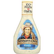 Newmans Own Ranch Salad Dressing 16 Ounce