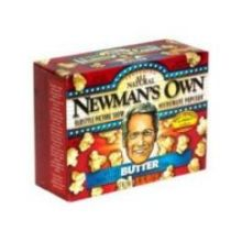 Newmans Own Butter Microwave Popcorn 10.5 Ounce