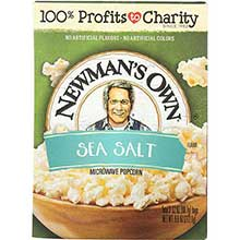 Newmans Own Natural Flavor Microwave Popcorn 10.5 Ounce
