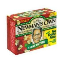 Newmans Own Light Butter Microwave Popcorn 10.5 Ounce
