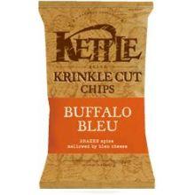 Kettle Foods Buffalo Bleu Krinkle Cut Potato Chips 5 Ounce