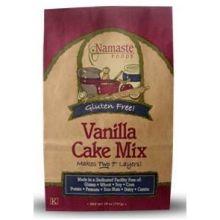 Namaste Foods Vanilla Cake Mix 26 Ounce
