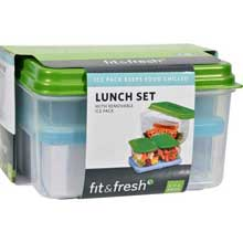 Lunch Set with Removable Ice Pack