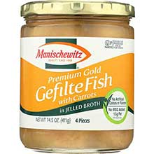 Jelled Premium Gold Gefilte Fish