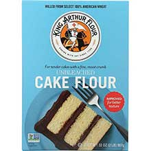 King Arthur Unbleached Cake Flour 2 Pound