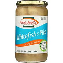 Whitefish and Pike In Liquid Broth
