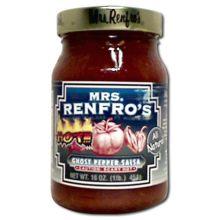 Mrs.RenfroF Ghost Pepper Salsa 16 Ounce