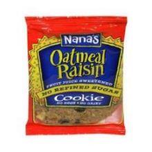Nanas Cookies - 3.5 Ounce Oatmeal Raisin Cookies