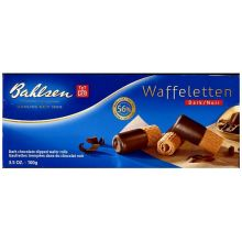 Bahlsen Waffeletten Dipped in Dark Chocolate Cookies 3.5 Ounce