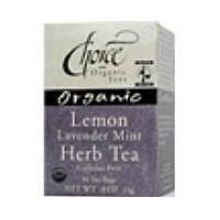 Choice Organic Teas Lemon Lavender Mint Herb Tea