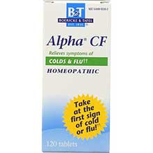Alpha CF Tablet for Cold and Flu