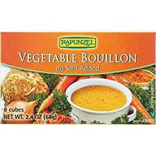 Rapunzel USA Organic Vegetable Bouillon - No Salt 2.4 Ounce