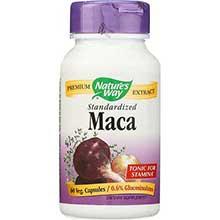 Natures Way Standardized Maca Extract Capsule