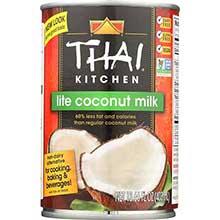 Thai Kit Lite Coconut Milk - 14 Oz Pack