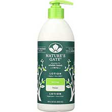 Natures Gate Tea Tree Lotion 18 Ounce