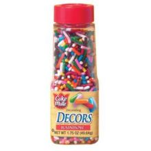 Cake Mate Rainbow Decorating Decor 1.75 Ounce
