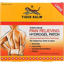 Tiger Balm Pain Relieving Patch 8 x 4 inch