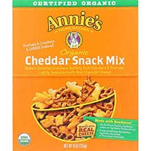 Organic Bunnies Cheddar Snack Mix