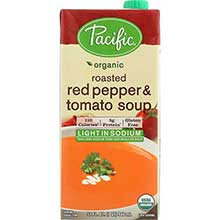 Pacific Foods Organic Creamy Roasted Red Pepper Soup 32 Ounce