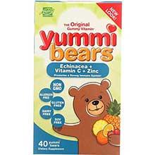 Yummi Bears The Original Gummy Vitamins for Children