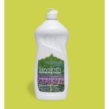 Seventh Generation Lemongrass and Clementine Zest Dish Liquid 25 Ounce