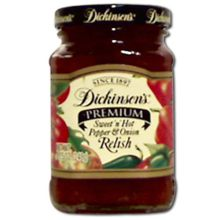 Premium Sweet and Hot Pepper Onion Relish
