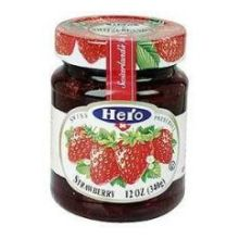 Hero Classica Premium Strawberry Fruit Spread 12 Ounce