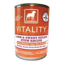 Dogswell Vitality Lamb and Sweet Potato Stew Dog Food 13 Ounce