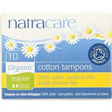 Natracare Organic Regular Tampon