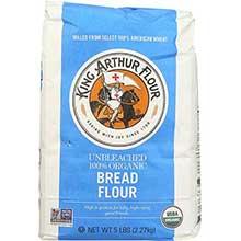 King Arthur Organic Bread Flour 5 Pound