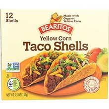 Little Bear Organics Yellow Corn Taco Shells 5.5 Ounce