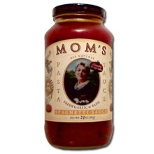 Moms Garlic and Basil Spaghetti Sauce - 24 Oz Pack