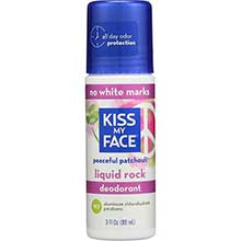 Kiss My Face Liquid Rock Patchouli Roll On Deodorant 3 Ounce