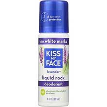 Kiss My Face Liquid Rock Lavender Roll On Deodorant 3 Ounce