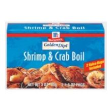 Shrimp Crab Boil Spice Breading