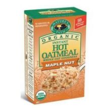 Natures Path Organic Maple Nut Hot Oatmeal 1.75 Ounce