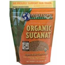 Wholesome Fair Trade Organic Sucanat 1 Pound