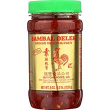 Sambal Oelek (Chili Paste) - 8 Oz Pack