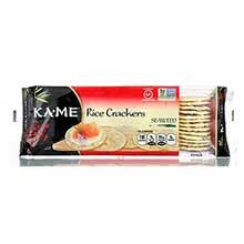 Kame Seaweed Rice Crunch Cracker 3.5 Ounce