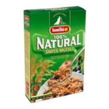 Familia Organic Cereal Natural Swiss Muesli 21 Ounce Mfg 01235